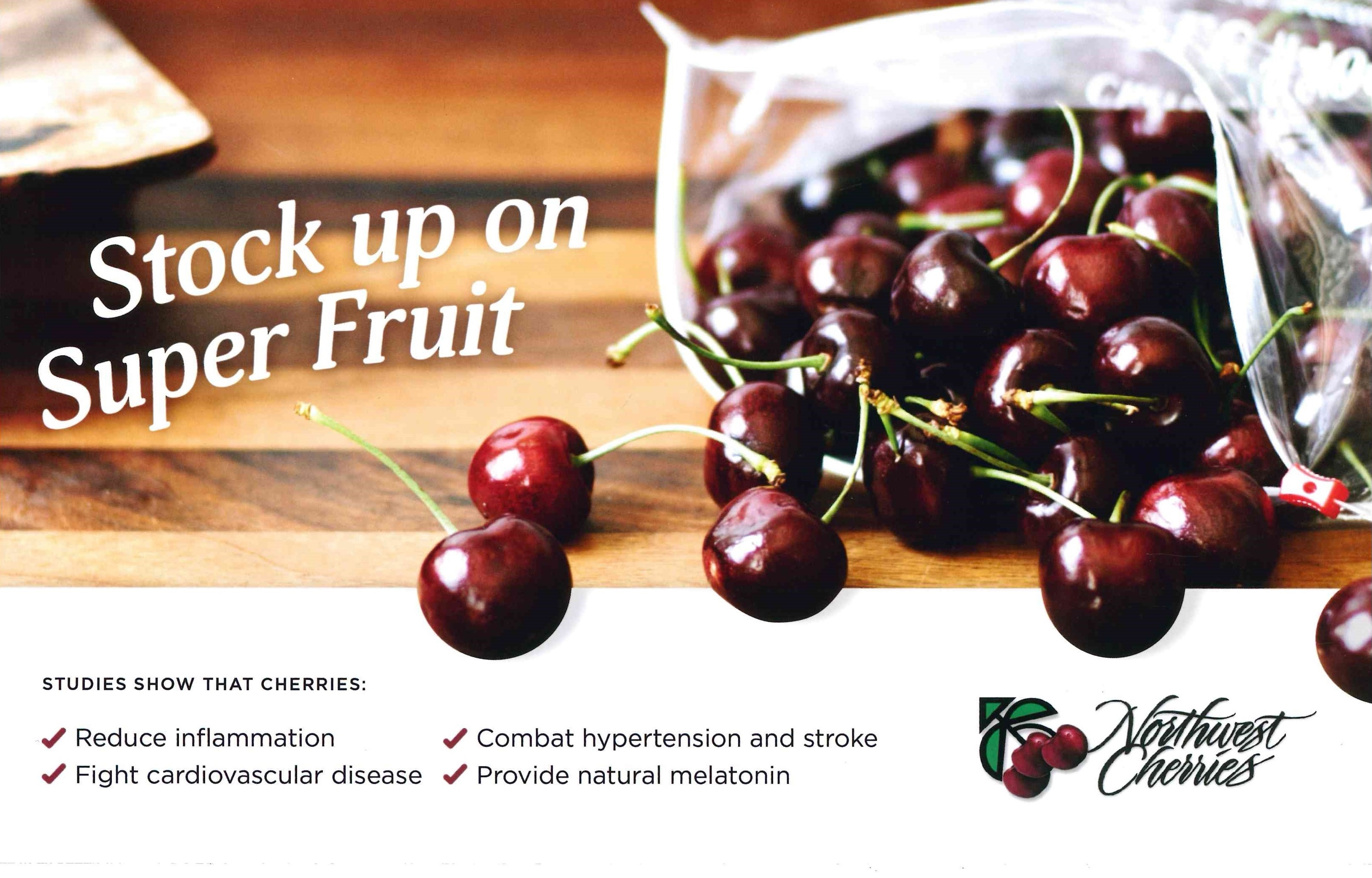 Stock Up on Superfruit POS CARD